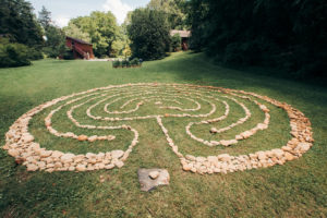 a labyrinth at ILC